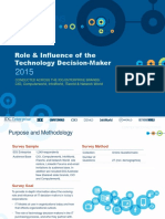 2015 IDG Enterprise Role & Influence of the Technology Decision-Maker Survey