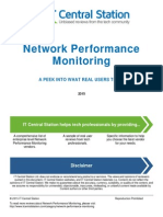 Network Performance Monitoring Report
