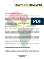 Africa Youth Movement (AYM) Organisational Overview