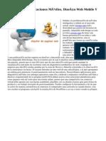 Desarrollo De Aplicaciones Móviles, Diseño Web Mobile Y Responsive