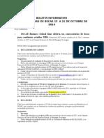 Boletín Informativo Becas Usac