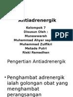 Antiadrenergik Kelompok 7 2