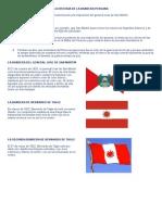 La Historia de La Bandera Peruana