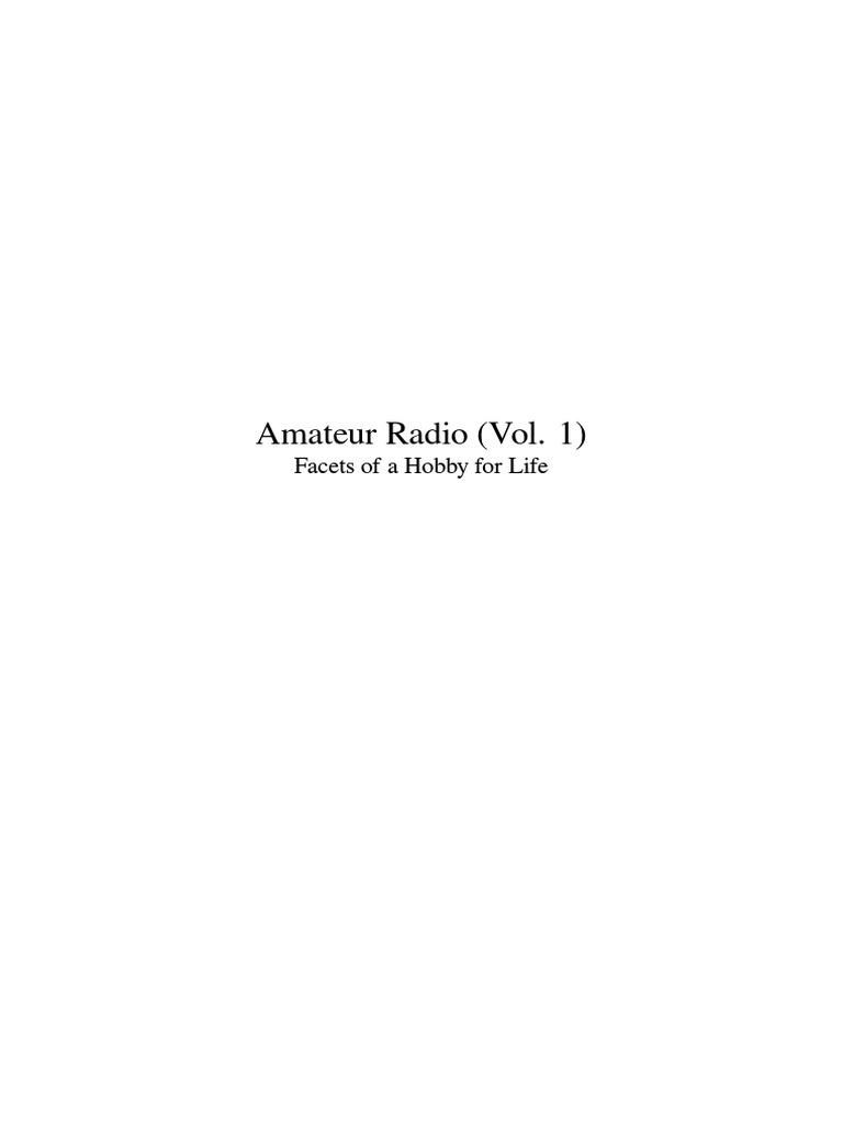 85f38b627100d Radio Afición (Vol. 1)   Amateur Radio   Radio