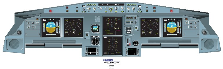 A320 Front Instrument Panel