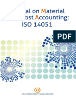 Manual on Material Flow Cost Accounting ISO14051-2014