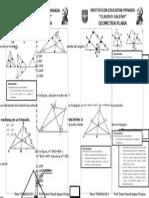Geometria Plana Puntos Notables
