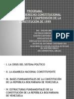 03 DE JUNIO DE 2015. PROGRAMA DEL SEMINARIO ANALISIS Y COMPRENSION DE LA CONSTITUCI+ôN