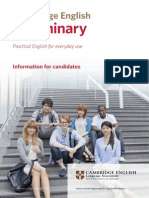24944 Preliminary Information for Candidates