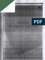 Regras de Grafia Musical_ Osvaldo Lacerda