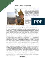 Historia y Origen de La Religión 2009 de Fer
