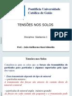 Aulas Geotecnia II_ Estados de Tensões