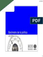 Barometro de La Política Julio 2015