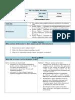Kinematics Unit Plan 2014-05-05