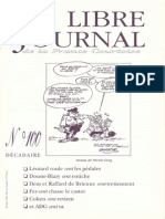 Libre Journal de la France Courtoise N°100
