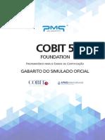GABARITO SIMULADO - COBIT 5