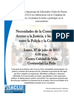 Flyer - Access to Justice