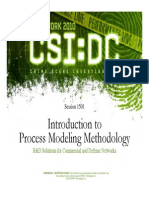 1501_Introduction to Process Modeling Methodology
