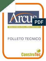 Construtec - Arcus Folleto Técnico