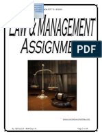 My Law Assign