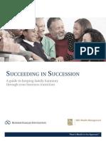 Succeeding in Succession