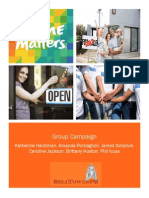 home matters communications campaign