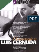 Paz y Cernuda. Biblioteca de México