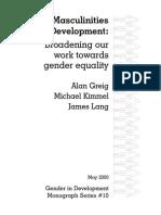 UNDP Men and Masculinities