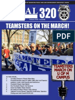 Teamsters Local 320 Newsletter