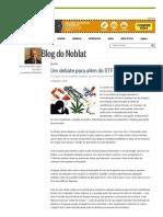 Um Debate Para Além Do STF , Por Fernando Henrique Cardoso