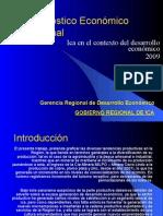 Diagnóstico Económico Regional Ica 2009