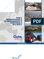 Plan Metropolitano de Ordenamiento Territorial 2012 - 2022