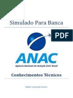 Simulado Para Banca ANAC - CT