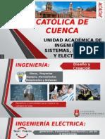 Universidad Catolica de Cuenca Carrera de Ingenieria Electrica