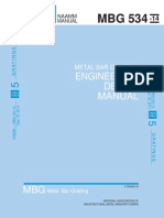 MBG_534_14 Metal Bar Grating Engineering Design Manual