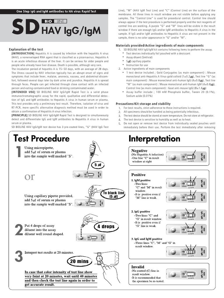 13fk10 Hav Igg-igm(d) Ins(en) Ce | Immunoglobulin G | Infection