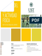 Ficha Carreras Ust Ciencias Del Deporte