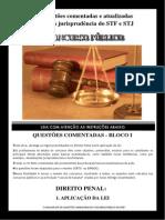 Questões Comentadas Aplicabilidade Da Lei