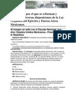 06-11-14 Ley Orgánica del ejército y fuerza aérea Mexicanos.