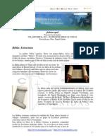 La Biblia Estructura