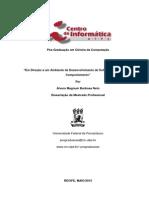 Em Direção a um Ambiente de Desenvolvimento de Software Orientado por Comportamento