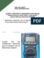 Mediciones Electricas Con Multimetro
