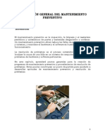 Descripcion General Del Mant Preventivo