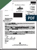 Eddie Lucio Jr Kroll Letter