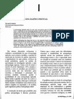 Antropologia Aplicada - Razões e Práticas