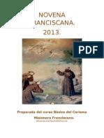 Novena Franciscana