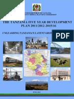 Tanzania National FYDP 2011-2015