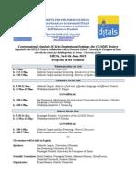Programme CLODIS Seminar