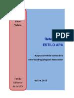 Manual de Referencias Apa Ucv f Idit