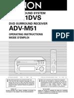 Denon M51 Manual